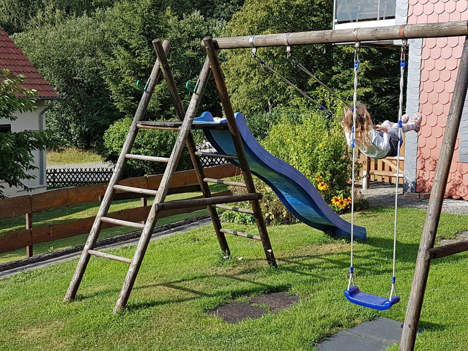 Extrem Garten - Wolfsbau Ferienwohnung SO63